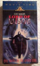 Lord of Illusions (NEW SEALED VHS, 1998, MGM) Clive Barker ---Scott Bakula