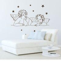 WANDTATTOO Engel mit Sternchen Engel Sterne Wandsticker Wandaufkleber
