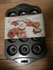New Norpro Nonstick Petite Donut Pan baked donuts not fried! MINIS Baby donuts