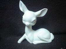 """C217 - 7"""" Ceramic Bisque Resting Deer - Ready to Paint"""