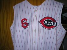 2002 Wilton Guerrero Reds game worn used jersey