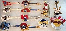 12 Hard Rock Cafe TORONTO SKYDOME Canada 1990s PIN LOT Guitars Logos Baseball +