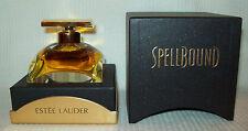 SPELLBOUND PERFUME WOMEN'S 1 oz/ 30ml GLASS FLACON Estee Lauder PRESENTATION BOX