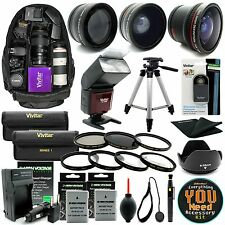 Nikon D3300 D3200 D5300 D5200 DSLR Camera Everything You Need Accessory Kit