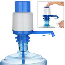 5&6 Gallon Manual Water Bottle Jug Hand Pump Dispenser Camping Drinking Spigot