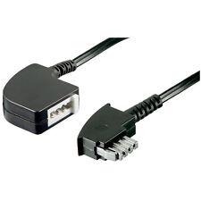 1 Telefon- Fax- Kabel TAE-N, 6 Pin Verlängerung 15 mtr.