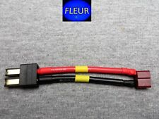 TRX Traxxas Male Connector to Deans Female Connector 14 AWG Wire