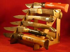 Présentoir en médium pour 6 couteaux