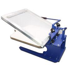 Brand New 1 Color Screen Printing Press Desktop DIY Press Machine #006207