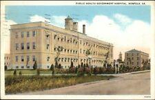 Norfolk VA Public Health Gov't Hospital c1920 Postcard
