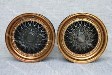 """16"""" RS Bronze Alloy Wheels Fits Volkswagen Caddy Derby Polo Lupo Golf 4x100"""
