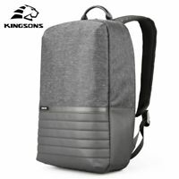 Laptop Casual Backpack Waterproof School Teenage 15 Inch USB Shoulder Bag