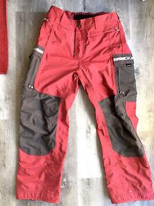 Oakley Software Snowboarding Pants Ski Snow Men Sz XL Light Brick Red