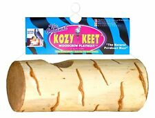 Wesco Pet Kozy Keet Woodchew Playnest Holistic Parakeet Nest, New, Free Shipping
