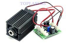 Focusable 500 mW 808 Presque comme neuf infrarouge IR Diode Laser Line Module 12 V + TTL + Ventilateur de refroidissement
