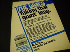 The Dregs are Taking That Giant Leap w/ Industry Standard 1982 Promo Display Ad