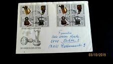 Germany DDR #2728a (x2) on Cover, Alexander Graham Bell phones, Communication
