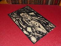 SUPERBE DESSIN ORIGINAL ANCIEN ENCRE Ink / EXPRESSIONISM ART XXe Nu Femme