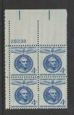 USA - 1959, 4c Blue, San Martin Block of 4 - M/m - SG 1124