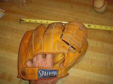 MLB Vintage Spalding Baseball Glove 1223 Triple Play Model Mitt Adult RH