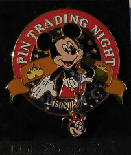 Disney Pin Trading Nights Collection Mickey Mouse 3D Minnie Mouse Dangle Le1000