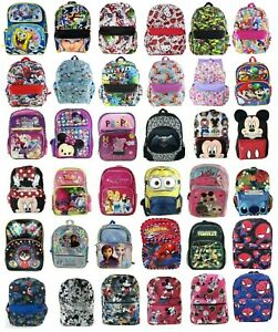 """Disney Large School Backpack Book Bag for Kids Girls Boys Mickey Mouse 16"""""""