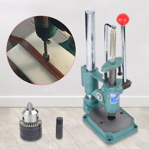 Leather Craft DIY Imprinting Machine Embossing Press Leather Stamp Punching
