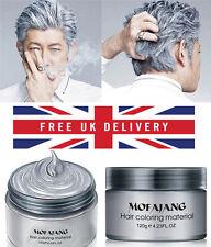 HailiCare 120g Silver Grey Hair Wax Men Women Professional Hair Pomades