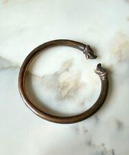 Bracelet viking Jonc ancien à double tête de chien