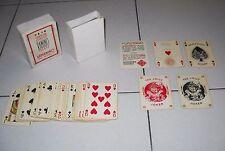 Tarjetas zona de juegos Rummy telate ABIDO ROMANO 1949 - 54 playing cards Póker