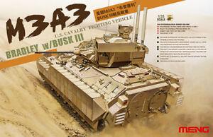 Meng Models 1/35 M3A3 Bradley w/BUSK III Interior Details