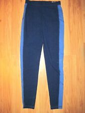 Woman's Hollister Blue High Rise Fitness Yoga Tights Size X Small-Tall NWT