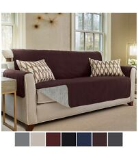 Gorilla Grip Slip-Resistant Furniture Protector Suede-Like SOFA Brown Coffee