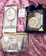 Disney Little Mermaid Ariel Make Up Cosmetics Mirror, Lip Gloss,Perfume,Lotion