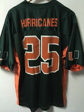 VTG STARTER Miami Hurricanes UM Men's Football Jersey 90's NCAA
