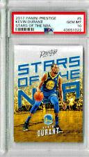2017 Panini Prestige Kevin Durant Stars of the NBA PSA 10