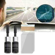 2Set Automotive Glass Repair Fluid Car Window Glass Crack Chip Nano Repair Tool