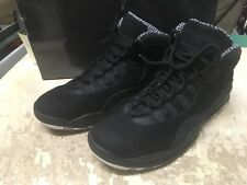 USED MENS NIKE AIR JORDAN X 10 BLACK STEALTH BB 310805 003 SZ 9 AIR MAX FREE