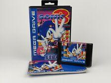 Sonic 3 - Sega Mega Drive Tested Game OVP boxed manual Modul Anleitung rare