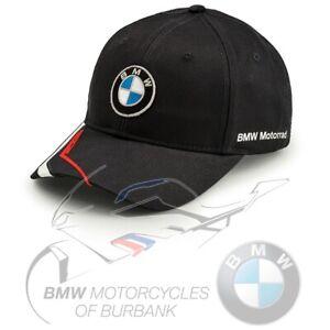 Motorsport Cap Genuine BMW Motorrad Motorcycle RIDE 2020