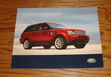 Original 2007 Land Rover Range Rover Sport Deluxe Sales Brochure 07
