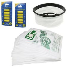 """Vacuum Cleaner Hoover 12"""" Filter 10 Bags & Air Fresheners Kit For Numatic Henry"""