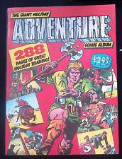 Giant Holiday Adventure Comic Album Hawk Comics Mike Higgs F+