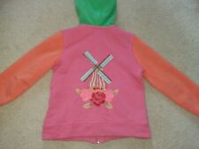oilily girls hooded jacket. age 4 years.  girls designer clothing