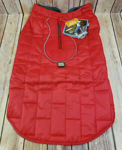 Kurgo Loft Jacket for Dogs with Reflective Trim Red Size Large FLAW