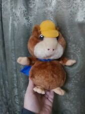 New listing Stuffed Animal superhero hamster or guinea pig with cape vintage toy plush cute