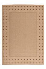 poil ras sisal Tapis moderne tressé aspect jute arrière beige Maïs NEUF 80x200