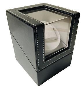 Automatic Single Watch Winder Display Box Organizer Japanese Mabuchi Motor PU