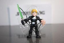 Playskool Star Wars Galactic Heroes Jedi Luke Skywalker Rivals w/ Green Saber