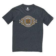 2016 NWOT MENS ELEMENT INSIGNIA T-SHIRT $25 M charcoal heather logo